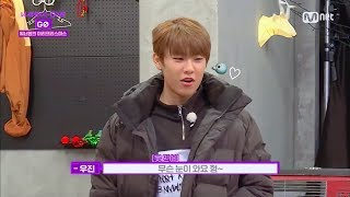 Wanna one go ep 6- snowing in zero base ...