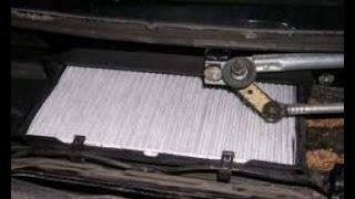 Как заменить воздушный фильтр кабины на Opel Corsa