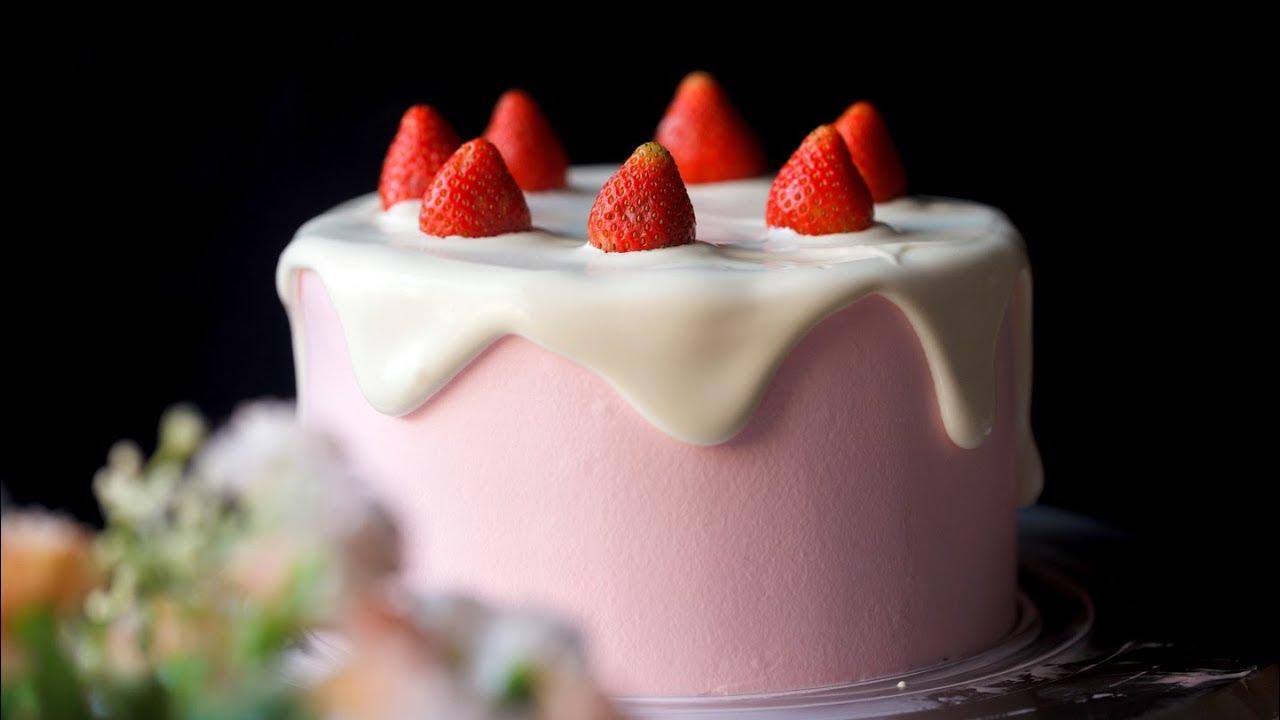 STRAWBERRY CHOCOLATE CAKE – Bánh kem dâu chocolate