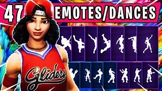 "Fortnite New ""TRIPLE THREAT"" Skin Showcased with 46 Dances and Emotes 