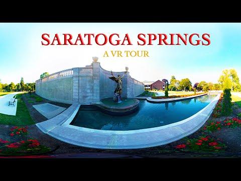 Virtual Reality Tour of Saratoga Springs, NY