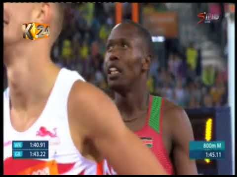 Wycliffe Kinyamal delivers Kenya's first gold at the Commonw