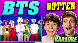 Download lagu BTS - 'Butter' in 노래방 (Karaoke) REACTION!!