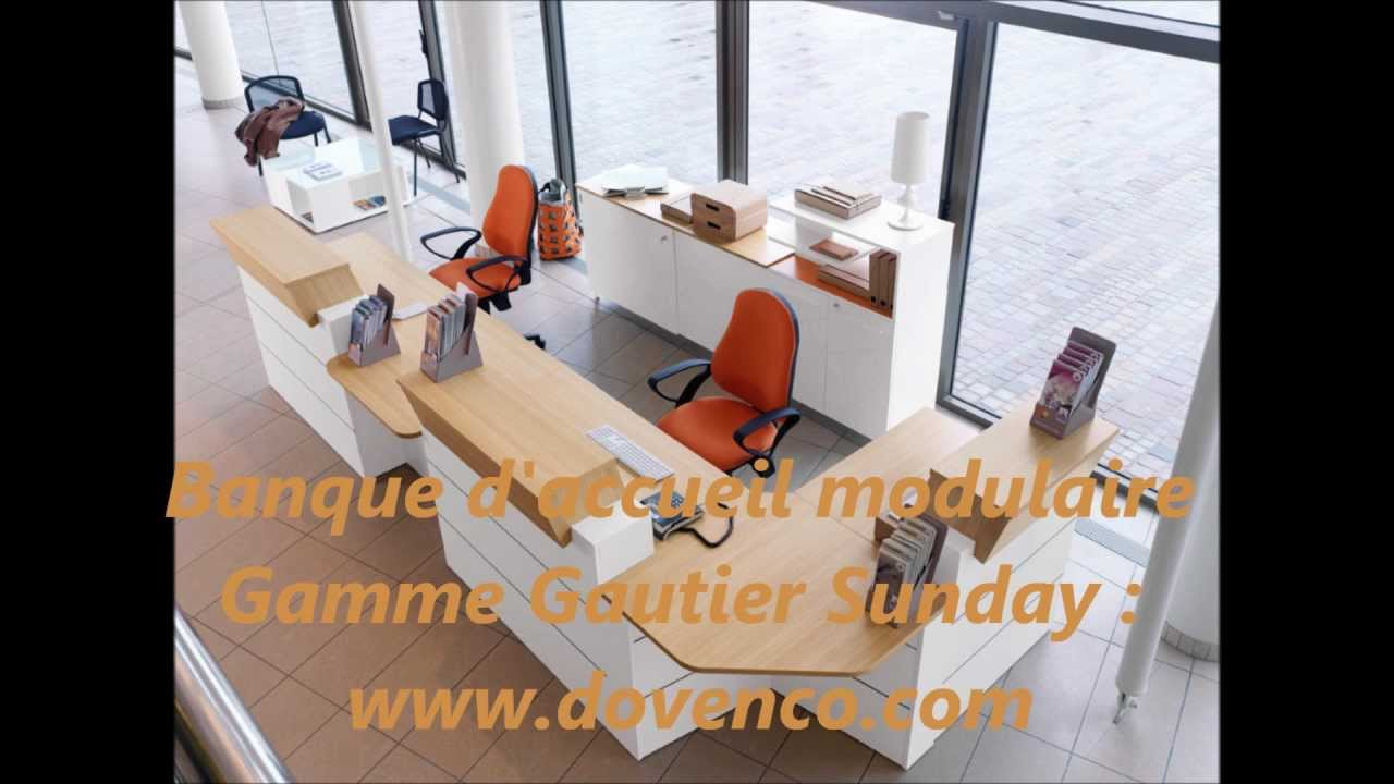 Dovenco vente de banques d accueils gautier office sunday