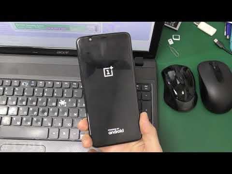 Как попасть в рекавери OnePlus 5T A5010
