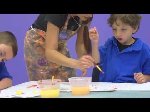 Fine Art Classes for Kids