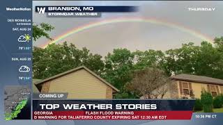 Rainbow on WeatherNation 82319