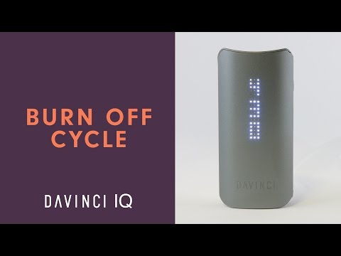 How to Perform A Burn Off Cycle on Your DaVinci IQ – DaVinciVaporizer.com