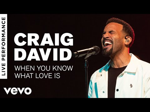 Craig David - When You Know What Love Is -  Performance  Vevo