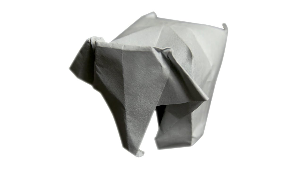 3d origami elephant diy learn origami how to make easy 3d origami elephant diy learn origami how to make easy origami elephant youtube jeuxipadfo Choice Image