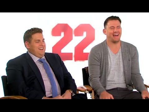 Dating Tips From Channing Tatum & Jonah Hill: 22 Jump Street Interview