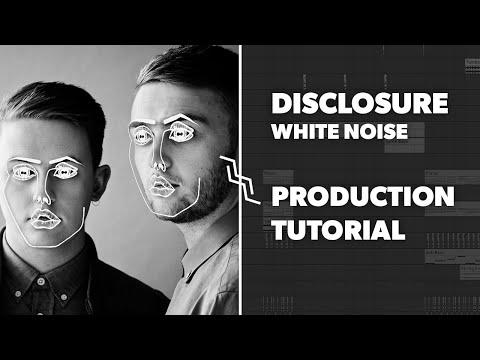 Tutorial: Bitwig  White Noise  Disclosure  PROJECT FILES