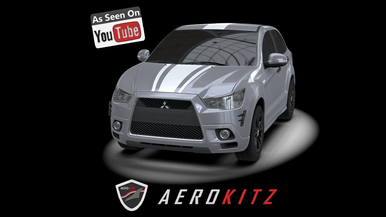 Aerokitz, Aksesoris Modifikasi Mitsubishi Outlander
