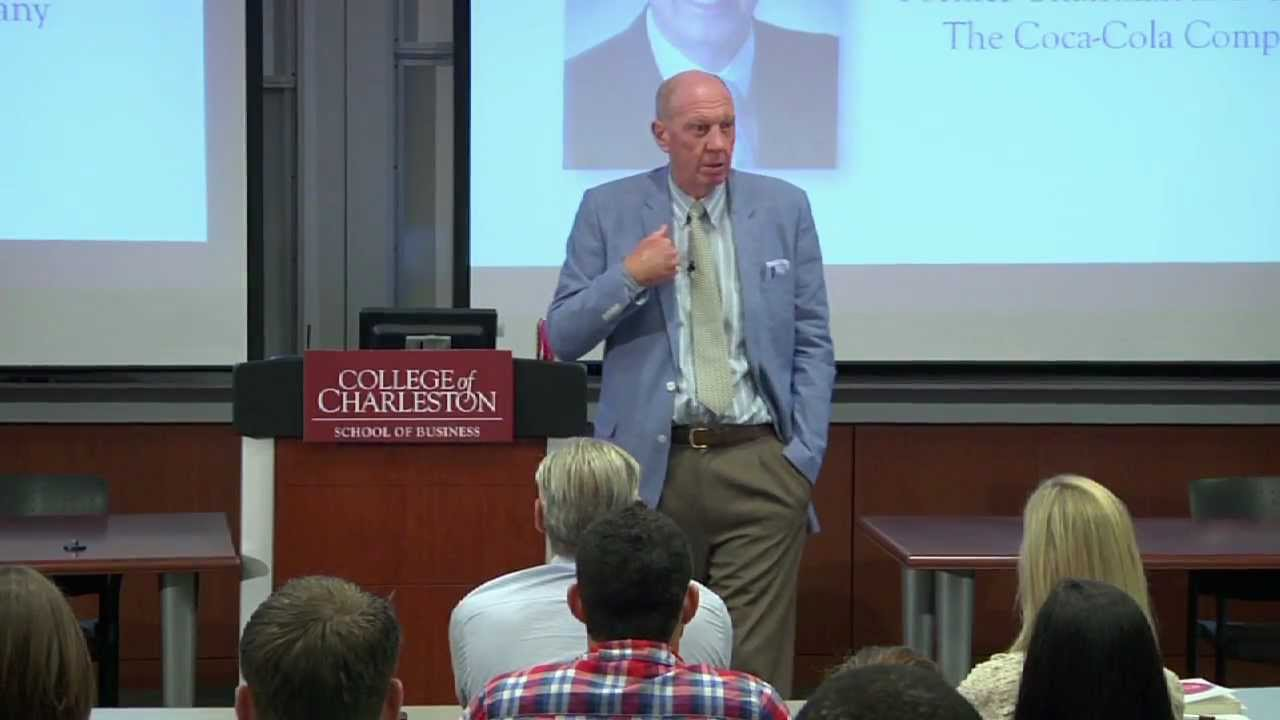 Former Coca-Cola Chair and CEO Speaks at College of Charleston ...
