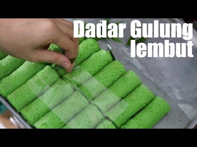 Resep Kue Jajanan Pasar Dadar Gulung