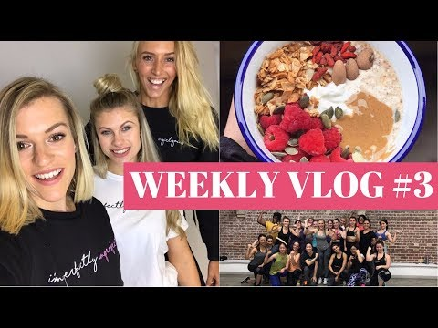 GETTING NUTRITION BACK ON TRACK | WEEKLY VLOG #3