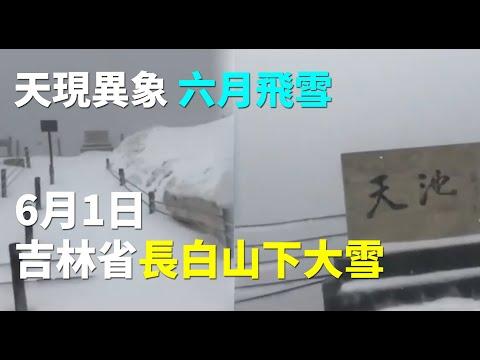 天现异象 六月的长白山漫天飞雪(图/视频)