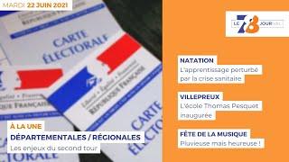 7/8 Le Journal. Edition du mardi 22 juin 2022