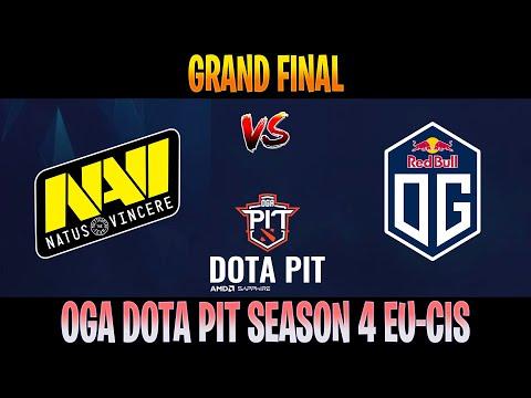 DOTA 2 LIVE | NAVI Vs OG All Games | Bo5 | Grand Final AMD SAPPHIRE OGA DOTA PIT S4 EU-CIS