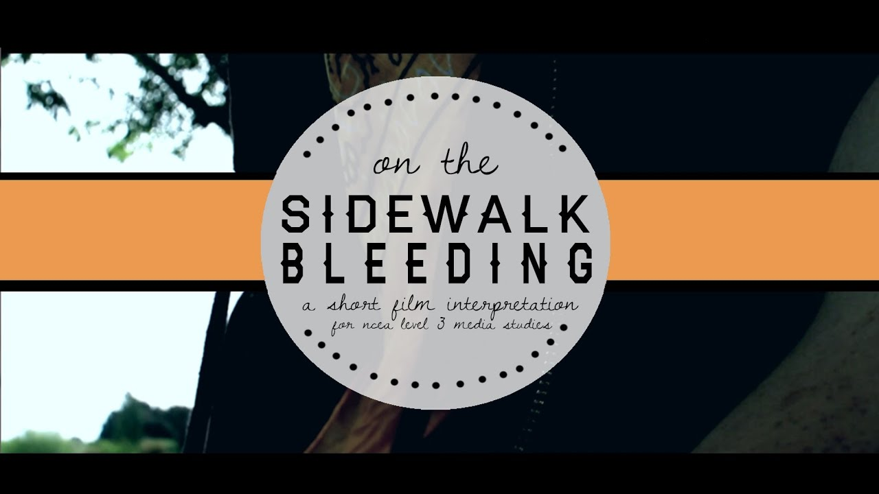 on the sidewalk bleeding a short story film interpretation on the sidewalk bleeding a short story film interpretation