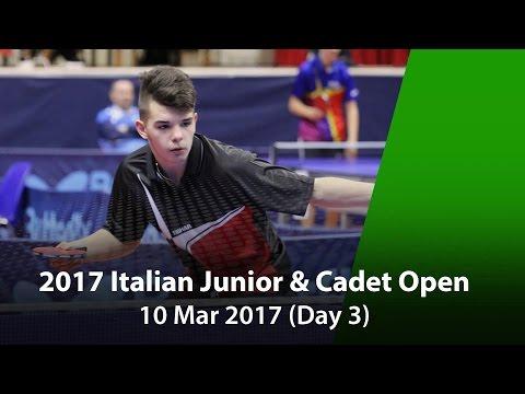 2017 ITTF Italian Junior & Cadet Open - Day 3