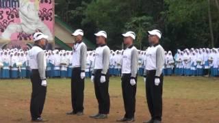 1 laporan pemimpin upacara pada acara Posdas 2016 I Darussalam Garut