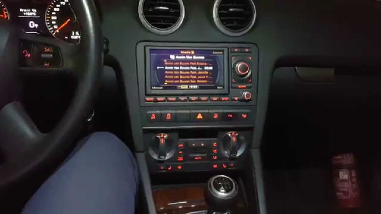 audi a3 facelift 8p audi sound system youtube. Black Bedroom Furniture Sets. Home Design Ideas