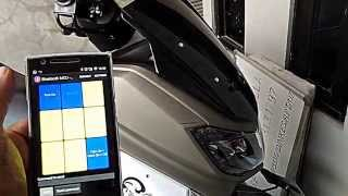 DIY | Yamaha NMax controlled by android smartphone.