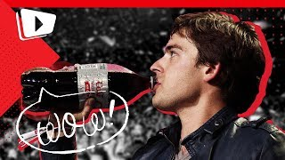 Can MatPat bottle flip a 2 Liter LIVE on STAGE??