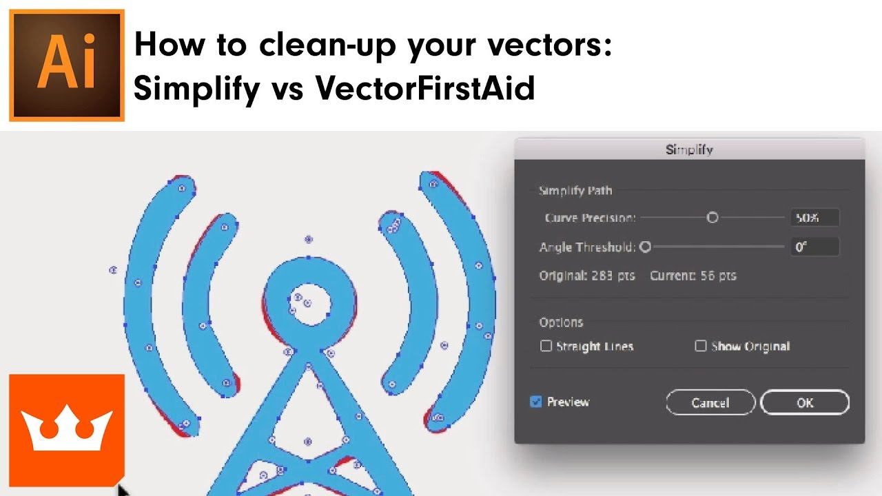 How to clean-up your vectors: Simplify vs VectorFirstAid | Sebastian Bleak