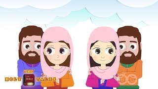Naomi and Ruth I Old Testament Stories I Animated Children´s Bible Stories