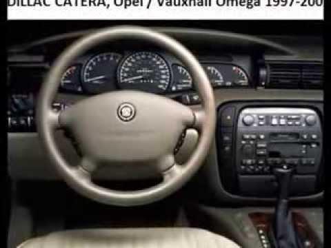 Cadillac Catera Opel Vauxhall Omega 1997 2001 Diagnostic