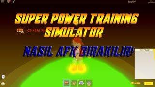 💥 Super Power Training Simulator(SPTS) 💥 AFK Bırakma | ROBLOX |
