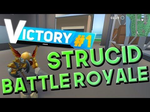 battle royale roblox strucid  robux  code