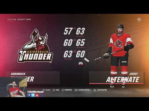 NHL 19 ECHL Uniform Jerseys