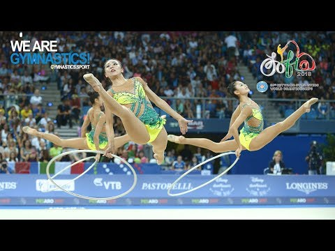 Rhythmic Gymnastics World Championships - Group Competition Finals