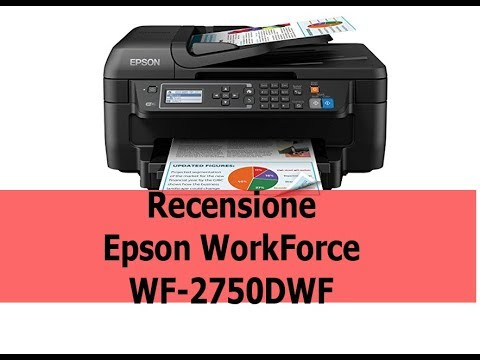 epson workforce wf 2750dwf scheda tecnica recensione e unboxing youtube. Black Bedroom Furniture Sets. Home Design Ideas