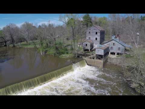 Webb's Mill Forgotten Nash County April 2017