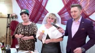 Свадьба Динара и Лейсан.  хлебсоль-балмай на свадьбе. Поздравления родителей