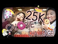 25K CALORIE CHALLENGE!?!? | GIRLS VS. FOOD #TheRematch