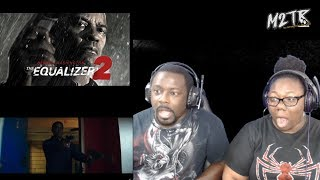 connectYoutube - THE EQUALIZER 2 - Official Trailer {REACTION!!}