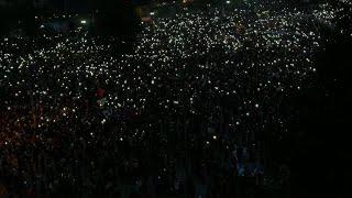 Chile: Massive protest in Plaza Italia continues into the night | AFP