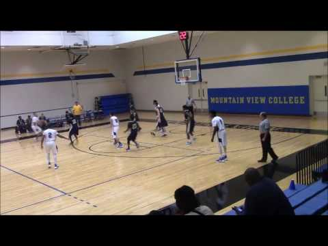 Mountain View College SG Anthony Scott #11 (2015 2016 Freshman Highlights)