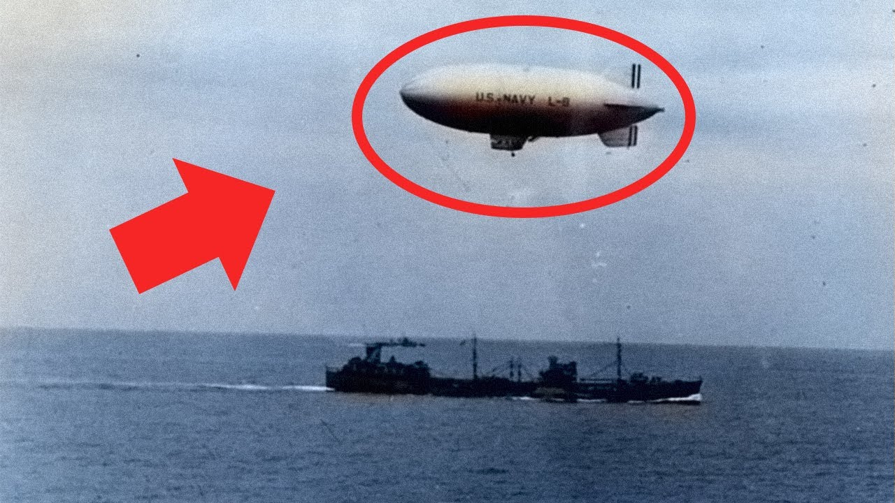The Unsolved Mystery of the WW2 Navy Airship That Returned Without Its Crew