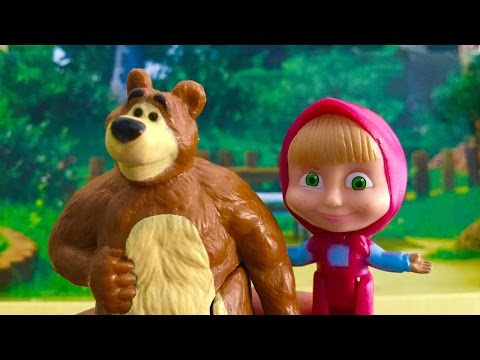 learn 123 Numbers with Masha and Bear