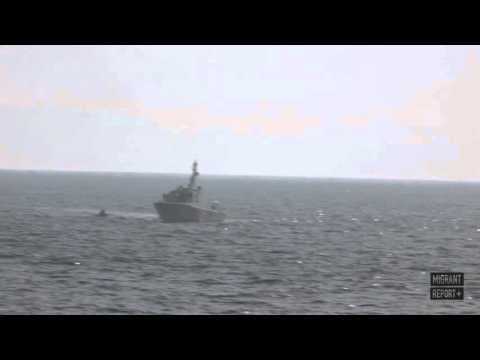 Turkish Coastguard Attack Refugee Boat