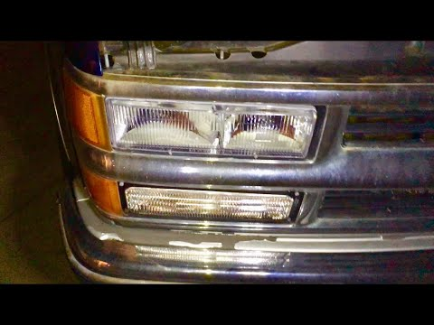How To Adjust Headlights on a GM Truck