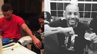 Steph and Dell Curry Celebrate NBA Championship in the Craziest Way Possible