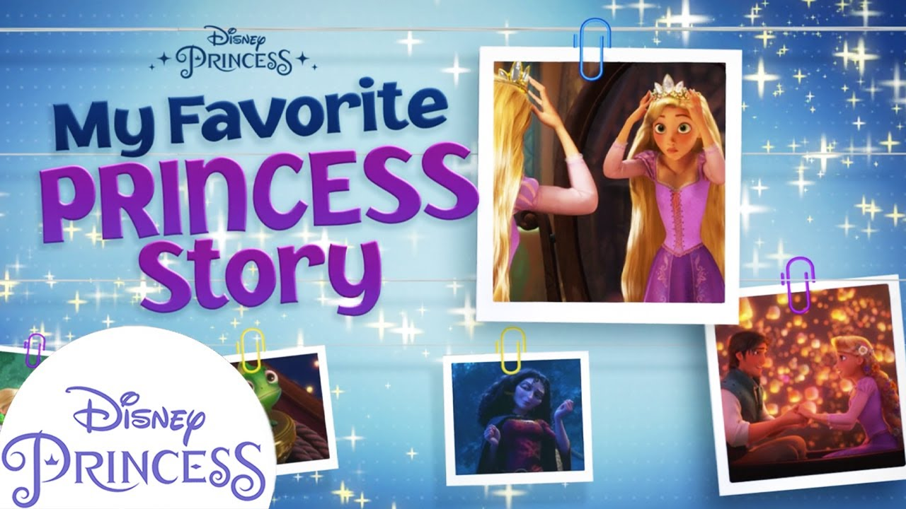 Rapunzel's Princess Story! | Disney Princess