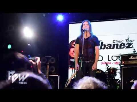 Ibanez Clinic Tour: Kiko Loureiro en Argentina 2016